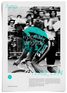 — Jorge León · Passion For Cycling #design #poster #retro #cycling #jorge leon