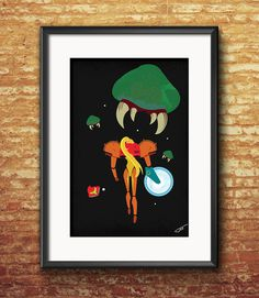Samus last fight - by Tidi #samus #metroid #Nintendo #Tidi #GeekArt #illustration