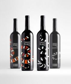 Wine set on the Behance Network