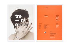 Wonderful type & page layout #type #print #layout