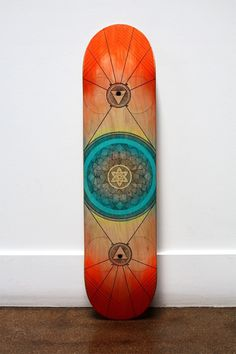 symmetry in skating - optimystic arts >> fine arts + healing arts #wood #watercolor #skate #skating