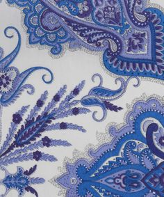 Lord Paisley H Tana Lawn, Liberty Art Fabrics #liberty #london #of #textiles #traditional #paisely