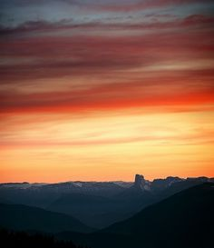 Mont Aiguille | Flickr - Photo Sharing! #color #landscape