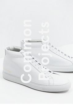 Common Projects #typography