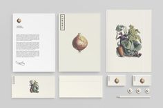 Puree branding & packaging by Studio Ahamed #old #look #clean #illustration #vegetable #logo