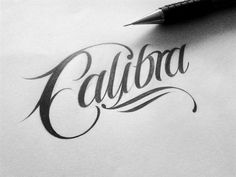 Handlettered Logotypes II by Mateusz Witczak #lettering #branding #design #graphic #typography