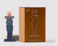 The-meltdown #sculpture #fun #candle #illustration #trump #animation