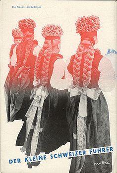"""""""Der Kleine Schweizer Führer, circa 1935. Back cover #poster"""
