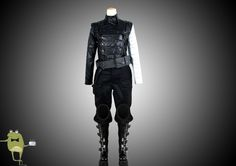 Captain America Bucky Barnes Winter Soldier Cosplay Costume Sale