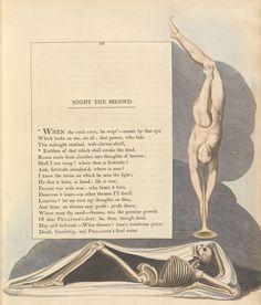 Night Thoughts of William Blake - 50 Watts #illustration