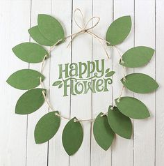 Happy Flower #design #graphic #typography