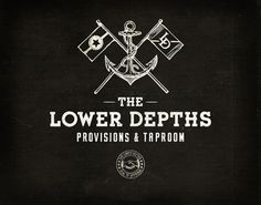 The Lower Depths on the Behance Network #logo #branding