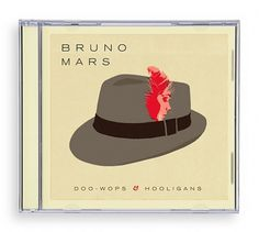 Bruno Mars : Oliver Munday Graphic Design #music #cover #illustration