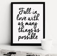 Fall in love with as many things as possible. Tab to shop the art!