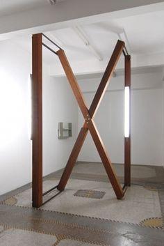 void() #wood #light #architecture #installation