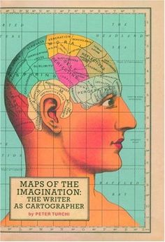 The Book Cover Archive: Maps of the Imagination, design by Pentagram #illustration #color #books