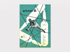 Display   Artrosil Franco Grignani 1   Collection #1940s #advertisement #design #graphic #dompe #grignani #franco #italy
