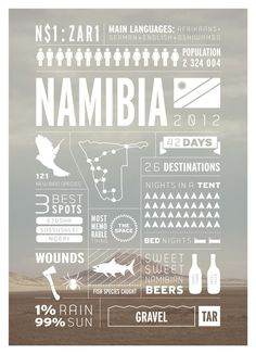 Southern Africa travel infographicsafrica #travel #poster