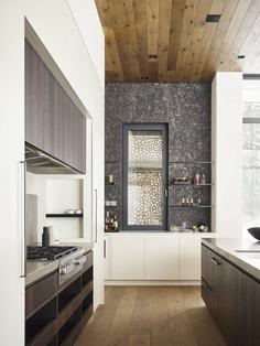 kitchen, Queen's Lane Pavilion / Carney Logan Burke Architects