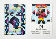 Eps51 graphic design studio: m4 models SedCards #poster