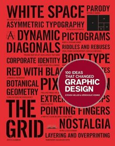 100 Ideas That Changed Graphic Design #graphic design #book #history #theory