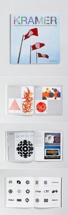 Burton Kramer Identities: A Career Retrospective Book | AisleOne #design #book