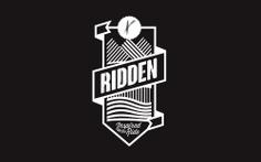 Ridden crest logo graphic