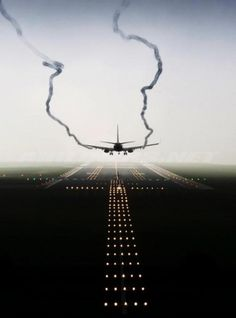 Merde! - Photography #airplane #photography