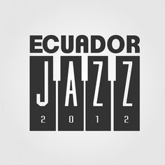 Logotomy on the Behance Network #logo #branding #jazz #ecuador