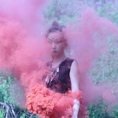 Haunting Photography by Ira Chernova I Art Sponge #smoke #ira #chernova #photography #portrait #fashion