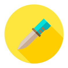 See more icon inspiration related to knife, Tools and utensils, miscellaneous, cutlery, cutting, restaurant, cut and food on Flaticon.