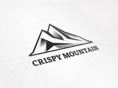 New Logo Design for Crispy Mountain #logo