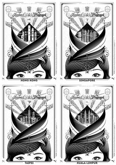 PUMA SOCIAL x KEFLIONE 4 posters #keflione #& #white #black