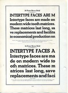 Beton Bold type specimen #type #specimen #typography