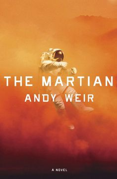 The Martian, Book cover, Space, astronaut, mars, typography