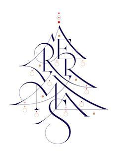 Aron Jancso #christmas #card #type