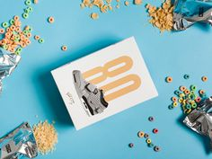 Victor Cruz x Nike x Kith Treats Cereal Box by High Tide NYC #design #packaging #sneakers