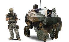 Ghost Recon Future Soldier #robotics