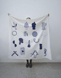 Proyecto Pueblo #textil #silkscreen #gatica #ignacio #pueblo #blok #art #proyecto