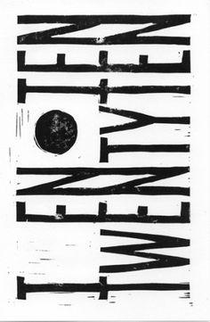 . #woodcut #ikhoor #experimental #black #typography