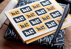 Nice slab serif #slab #serif #hi #card