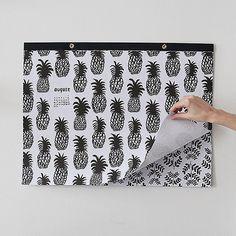 linda harriet 2015 #linda harriet #pineapple #illustration #black and white #ink