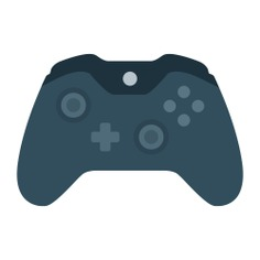 See more icon inspiration related to gamepad, joystick, gamer, gaming, video game, game controller, multimedia, electronic and technology on Flaticon.