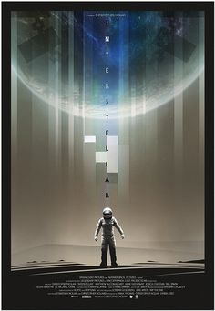 Poster by Andy Fairhurst #inspiration #creative #movie #interstellar #print #design #space #unique #poster #film