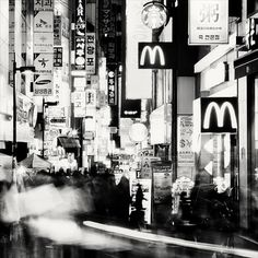 South Korea on the Behance Network #photography #blackwhite #korea #south