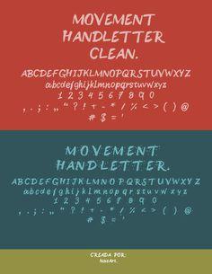 Movement Handletter - by:nasart on Behance