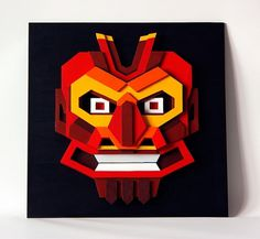 Plywood artworks on the Behance Network