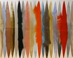 Luli Sánchez » paintings #dots #watercolor #textile