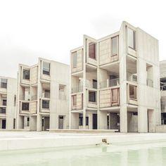 Salk Institute on Behance #kahn #photography #architecture