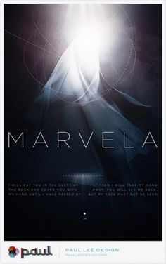 Paul Lee Design #marvela #print #design #lee #illustration #poster #paul
